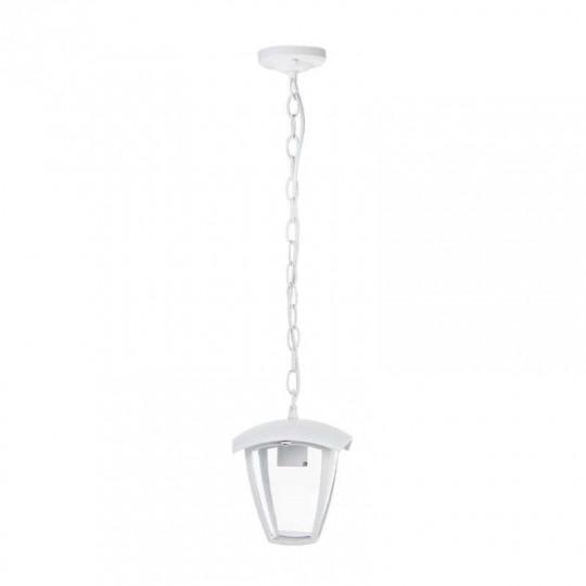 Lanterne Suspendue Blanche Douille E27 IP44