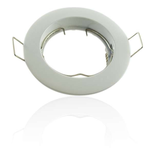 Kit Spot LED GU10 COB 5W équivalent 5W Blanc du jour 6000K fixe blanc