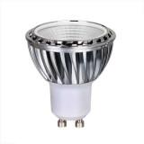 Kit Spot LED GU10 COB 5W équivalent 50W Blanc neutre 4100K fixe aluminium