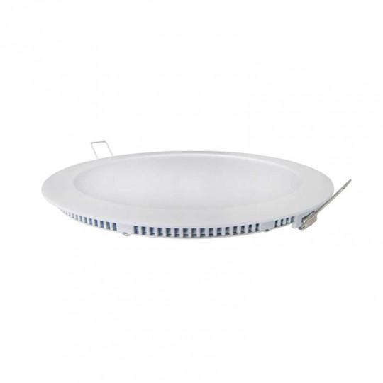 Spot LED encastrable extra plat 11W Blanc - Blanc Naturel 4200K