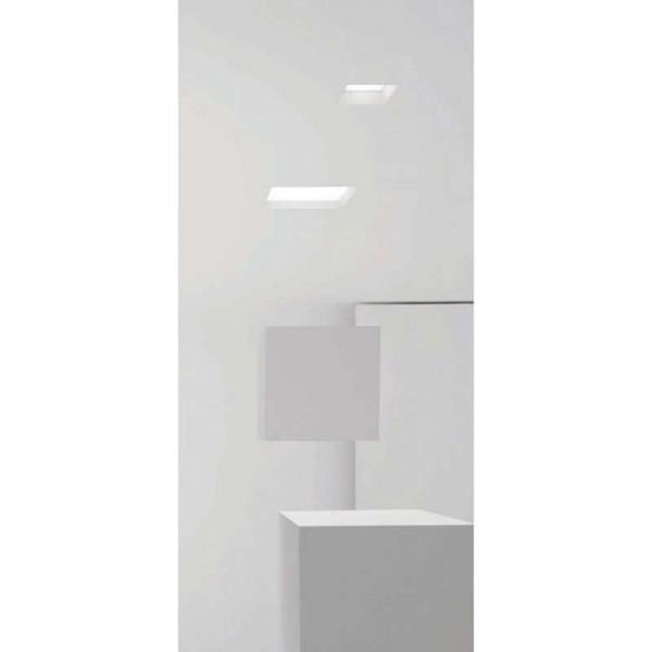 Downlight extrafin carré 6W équivalent 40W Ecolux