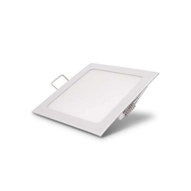 Downlight carré extra fin 18W Blanc -...