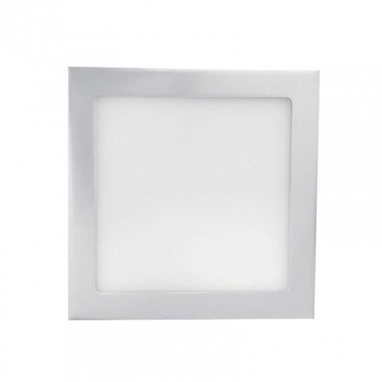 Downlight carré LED 24W Gris - Blanc Chaud 3000K