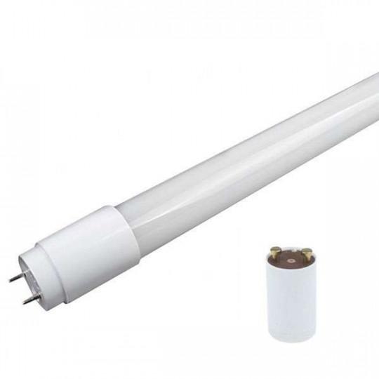Tube LED T8 22W avec Starter 1500mm Blanc Chaud 2800K