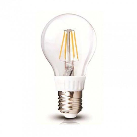 Ampoule LED A60 Filament 4W E27 Blanc Chaud 2700K