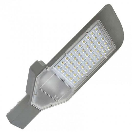 Luminaire LED Urbain 80W Gris IP65 Blanc Jour 6000K