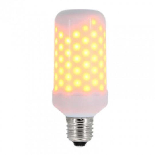 Ampoule LED E27 5W SMD Imitation Flamme Blanc Très Chaud 1300K