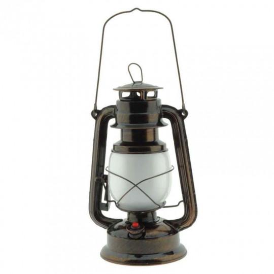 Lanterne LED à Batterie 5W E27 Bronze Blanc Chaud 1300K