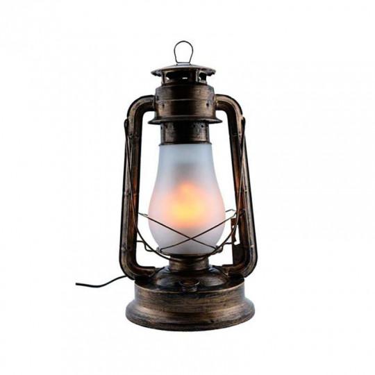 Lanterne LED 5W E27 Bronze Blanc Chaud 1300K