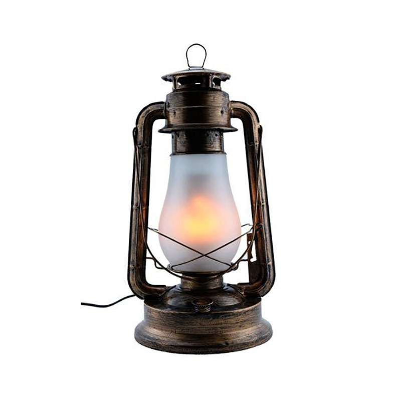 Lanterne LED 5W E27 Bronze Blanc...