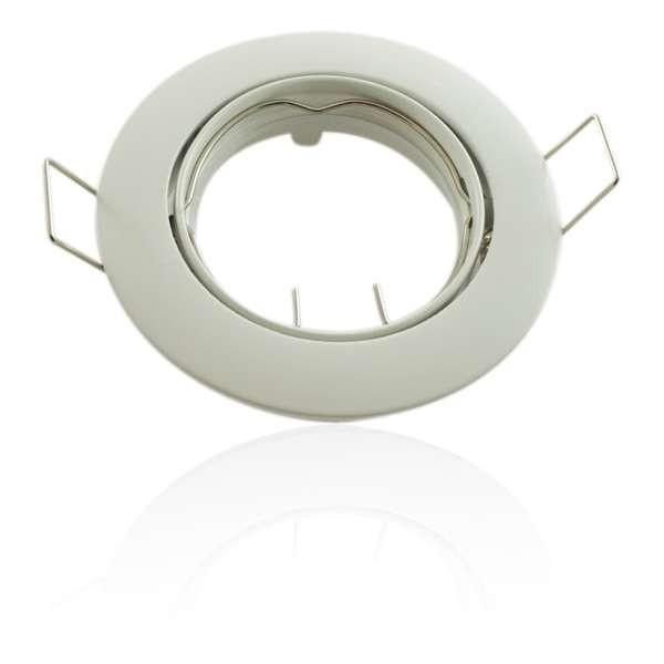Kit Spot LED GU10 COB dimmable 5W équivalent 50W Blanc neutre 6000K fixe blanc