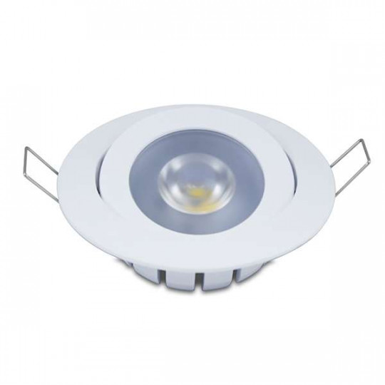 Spot encastrable 10W LED CREE équivalent 80W - Blanc du Jour 6000K
