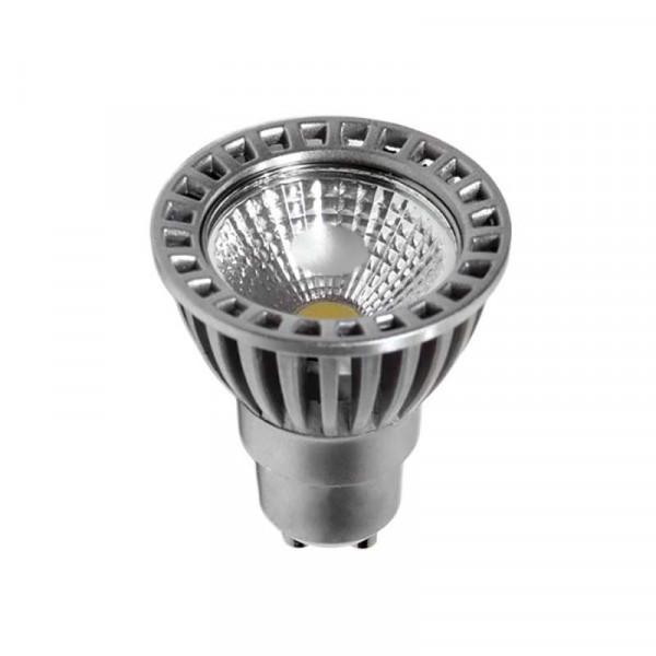Kit Spot LED GU10 étanche 4W carré blanc lumière 35W Blanc Chaud 2800K