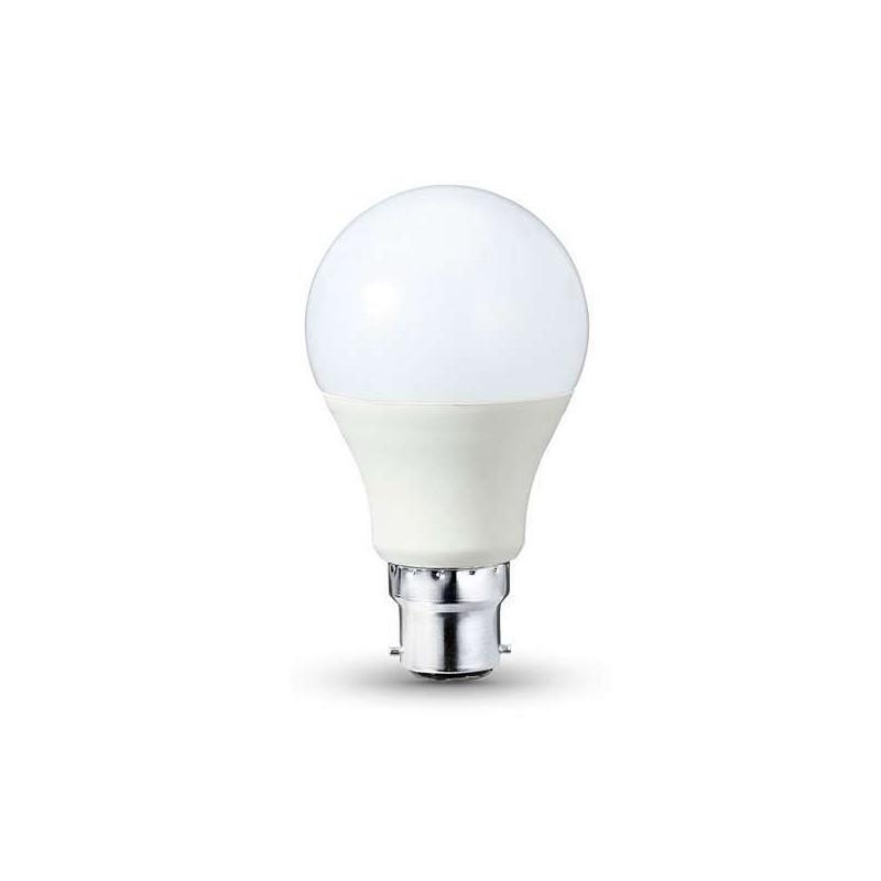 Ampoule LED B22 12W Ronde - éclairage 80W
