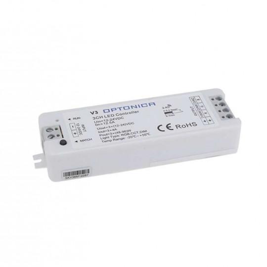 Contrôleur LED Radiofréquence RGB IP20 Optonica
