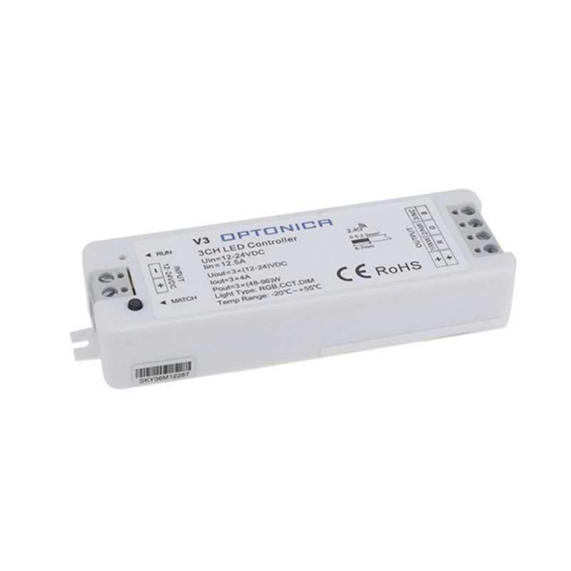 Contrôleur LED Radiofréquence RGB...