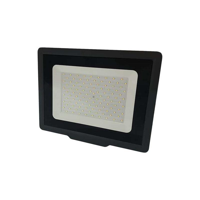 Projecteur LED Noir 100W (500W) IP65...