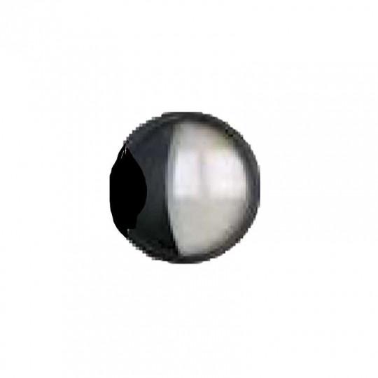 Contour Décoratif Haut pour Applique VALQUIRIA 15W Noir