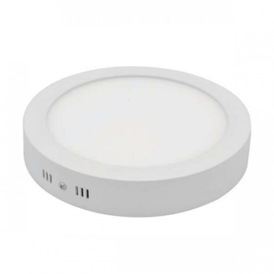 Plafonnier LED en saillie 6W (50W) 120x39mm Blanc