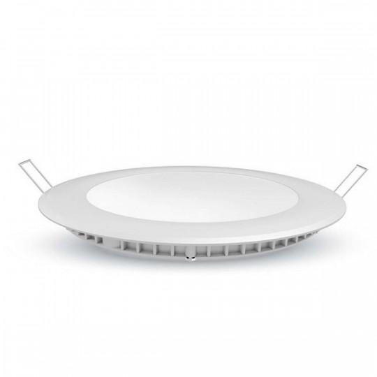 Plafonnier led Rond 12W extra plat (eq 100W) encastrable