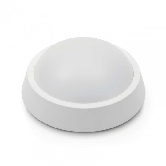 Applique LED de Plafond 8W Rond avec Lumière de Secours 3h - Blanc Chaud 2700K