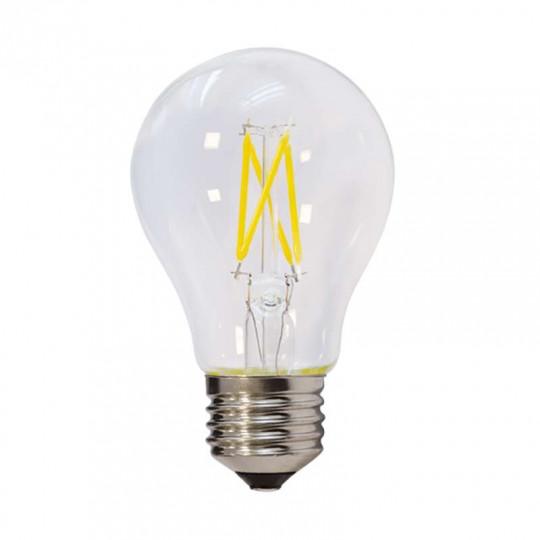 Ampoule LED E27 A60 filament E27 6,5W (eq. 50 watts) Optonica