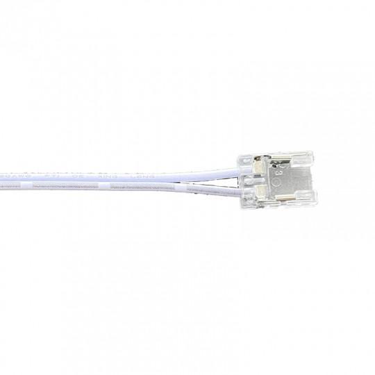 Connecteur Ruban LED COB Monocouleur 8mm