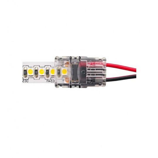 Connecteur Ruban LED 10mm Monocouleur vers Fils