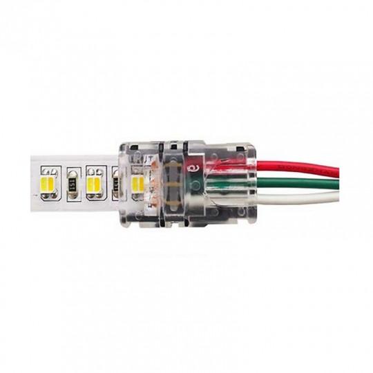 Connecteur Ruban LED 10mm CCT vers Fils