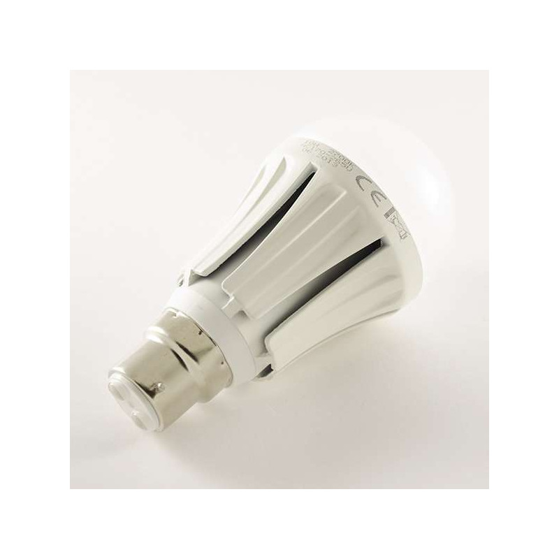 Ampoule LED B22 10W 850lm Ronde A60 -...