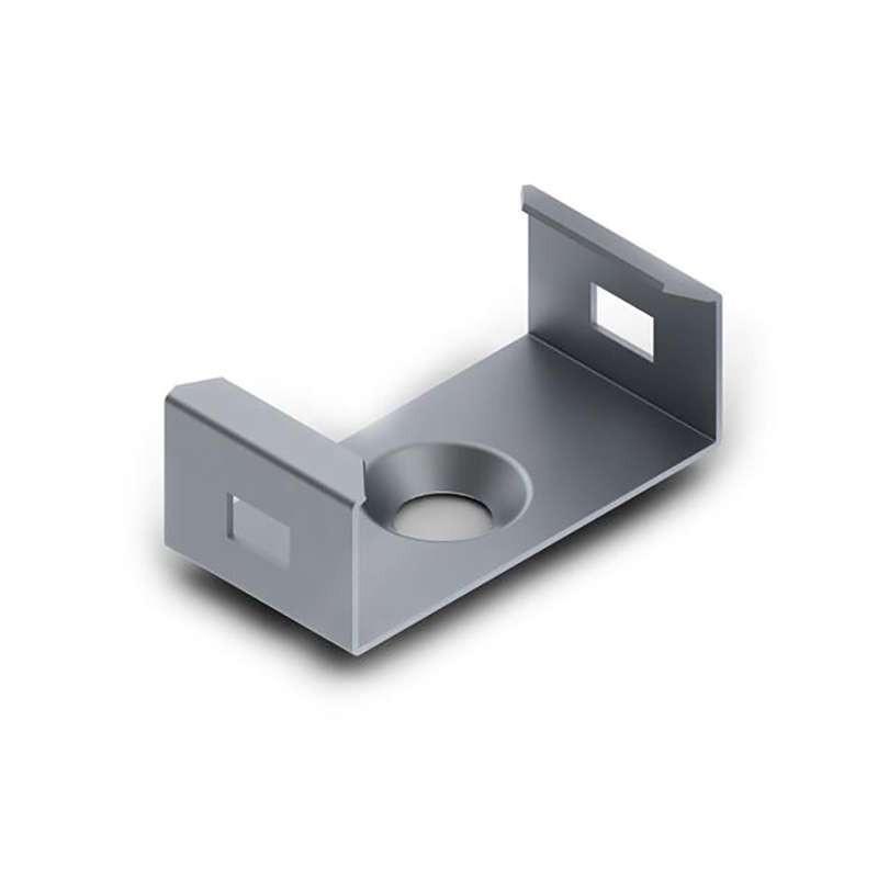 Clip de Montage en Acier pour Profilé Large SLW8