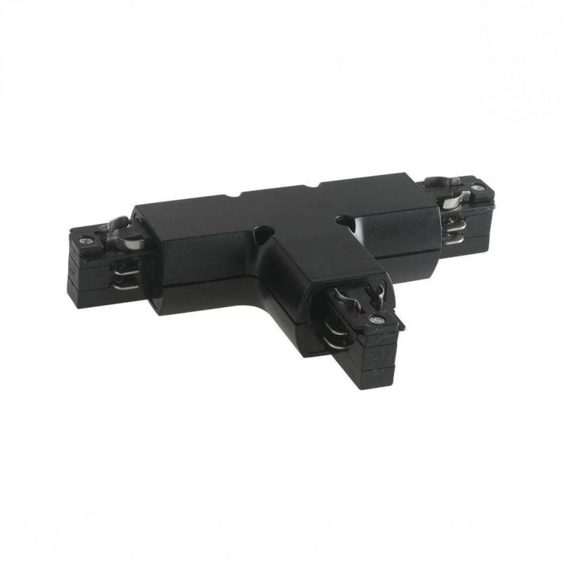 """Connecteur """"T"""" Noir pour Rail LED - 4..."""