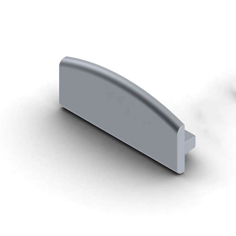 Capsule de finition aluminium pleine SLW8