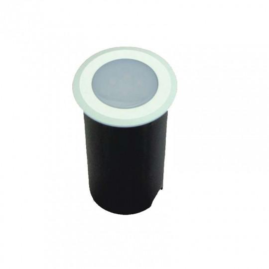 Petit Spot Encastable 1,5W LED tour blanc étanche IP67