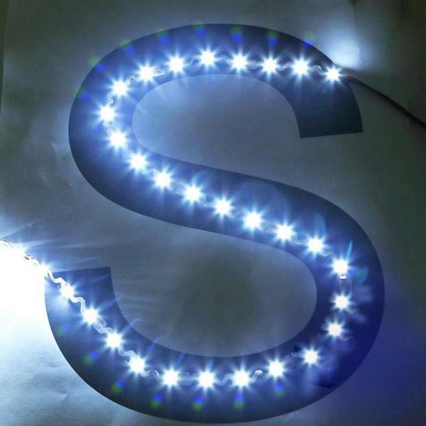 """Ruban LED pliable """"S"""" DC24V 60 LED SMD2835 14W/m"""