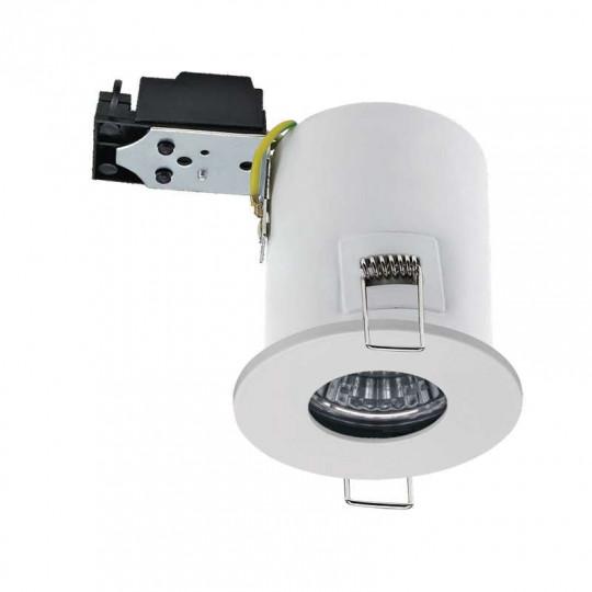 Kit Spot LED RT2012/BBC Finition Blanc GU10 7W  équivalent 50W - Blanc du Jour 6000K