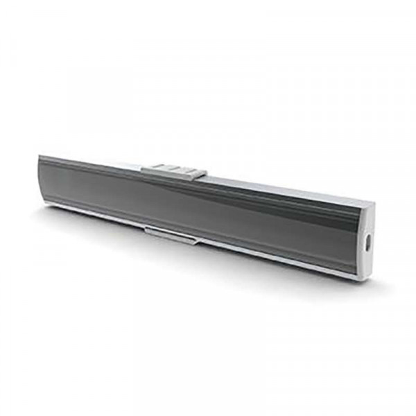 Diffuseur Transparent 18,4mm pour Profilé SLW
