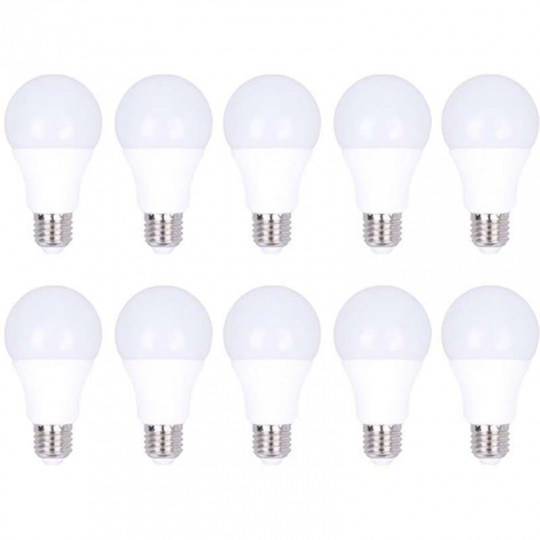 Ampoule E27 12W A65 équivalent 75W