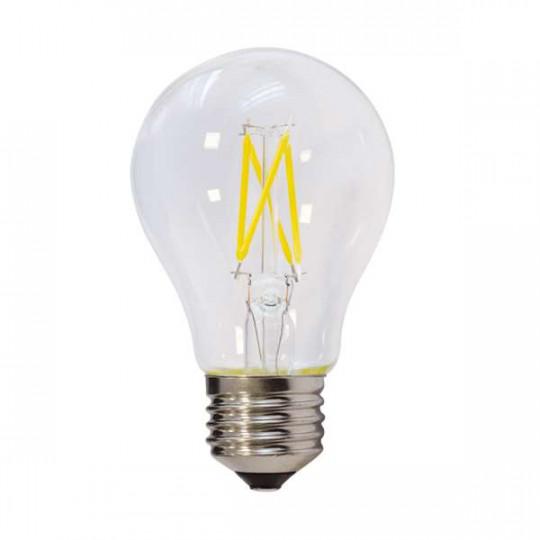Ampoule LED E27 filament 4W 400lm A60 - Blanc du Jour 6000K
