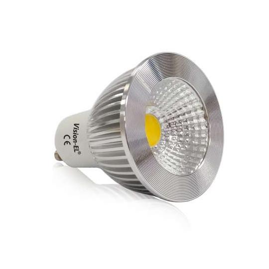 Spot LED GU10 6W Dimmable éclairage 60W - Blanc Naturel 4000K