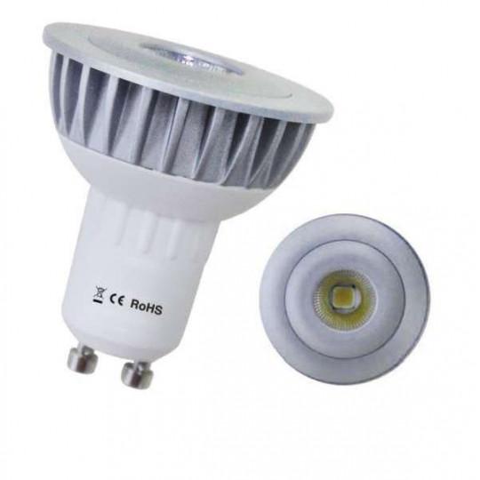 Spot LED GU10 8W équivalent 60W Dichroïque Cobra - Blanc du Jour 6000K