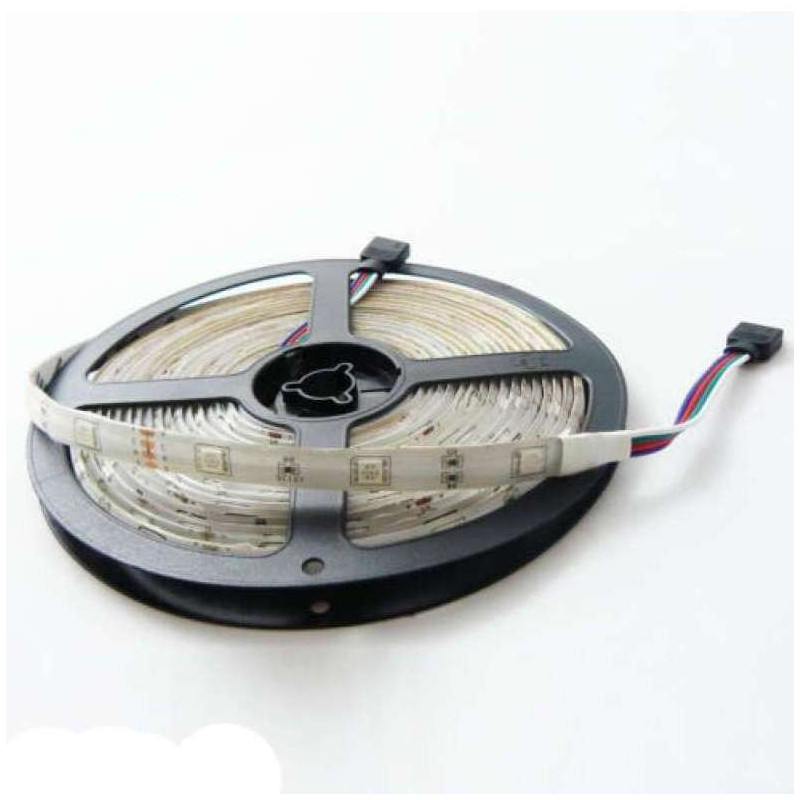 Ruban LED RGB 24V 60LED/m 14,4W/m 10m