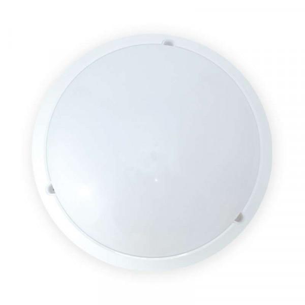Hublot LED ovale 18W étanche avec détecteur