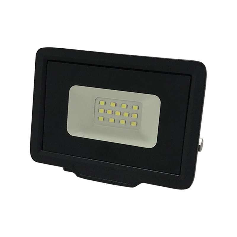 Projecteur LED 10W (50W) Noir Étanche...