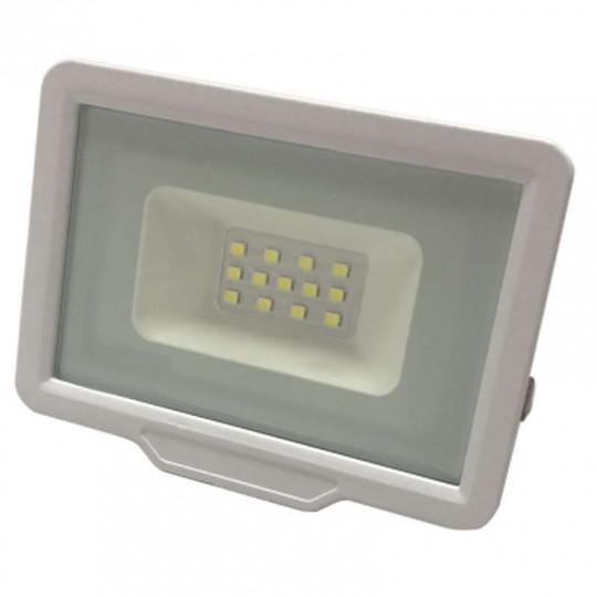 Projecteur LED 10W (50W) Blanc Étanche IP65 800lm - Blanc Naturel 4500K