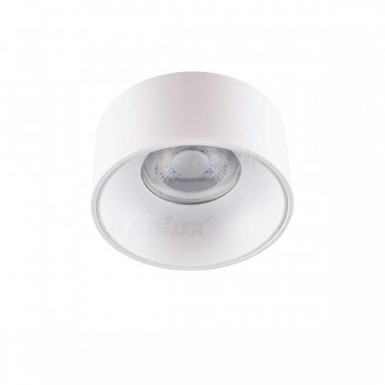 Support de Spot Encastrable Rond Mini RITI GU10 Blanc