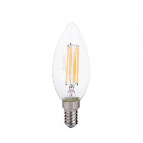 Ampoule LED E14 Filament 6W Équivalent 55W - Blanc Chaud 2700K
