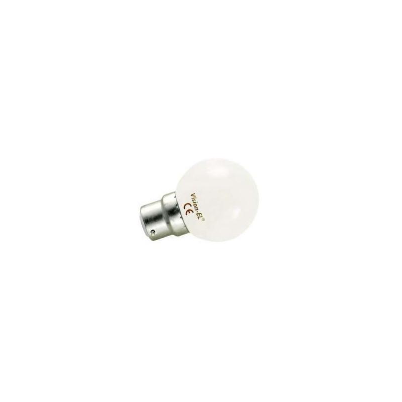 Ampoule LED B22 1W Équivalent 9W G45...