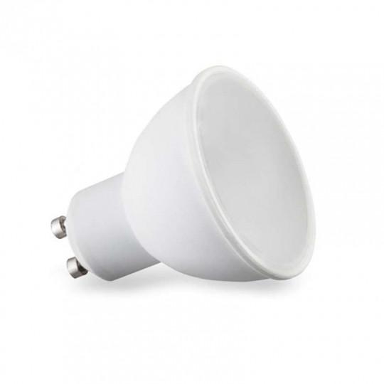 Spot LED GU10 7W Équivalent 50W Grand Angle 110° - Blanc du jour 6000K