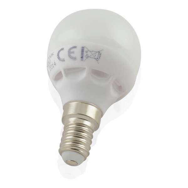 Lot de 6 Ampoules E14 LED 6W Globe eq 40W